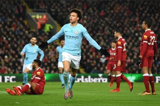 Liverpool kontra Manchester City Masih Imbang pada Babak Pertama