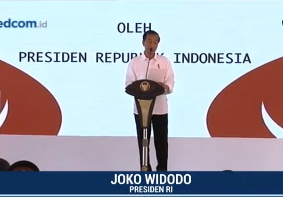Presiden Sebut Padat Karya Tunai Tingkatkan Daya Beli