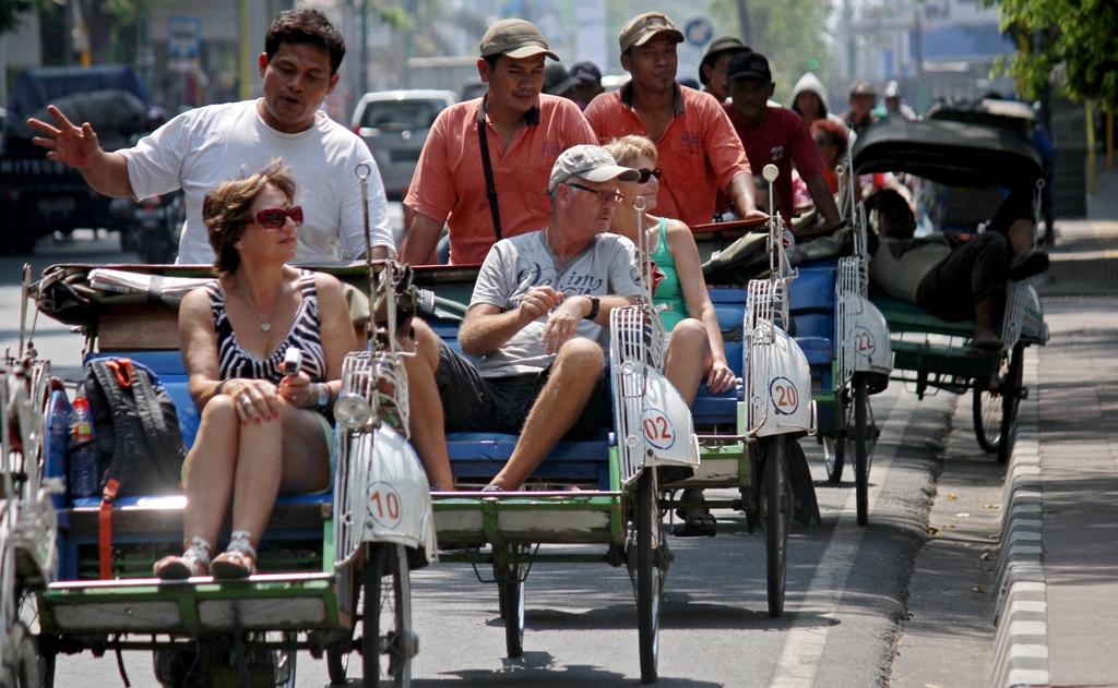 Kunjungan Turis Asing Sepanjang 2017 tak Capai Target