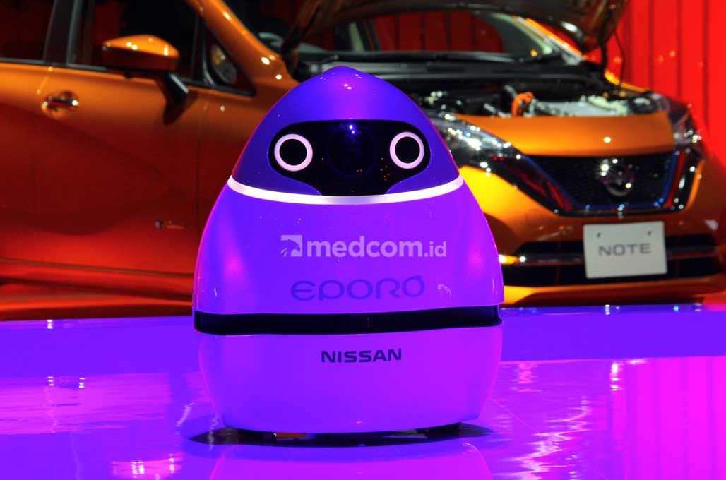 Robot Eporo, Prototipe Awal Konektivitas Mobil Masa Depan