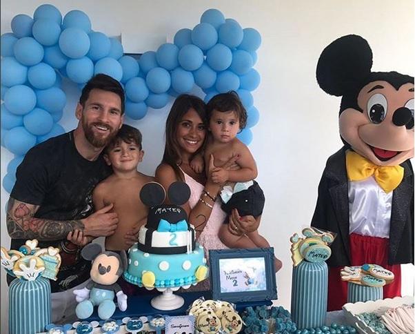 Messi-Roccuzzo Menanti Kehadiran sang Buah Hati