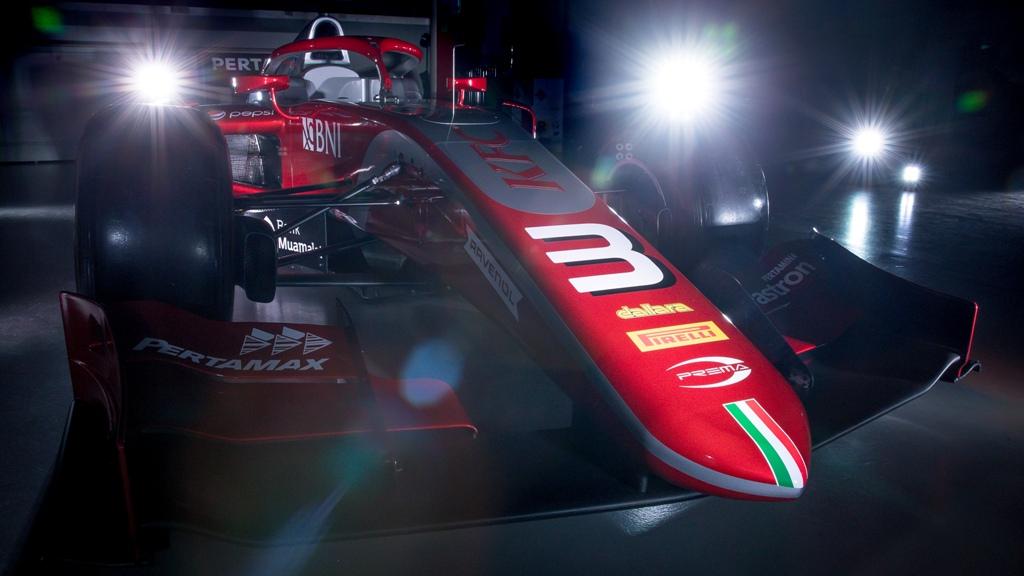 Prema Perkenalkan Mobil Baru untuk Sean & De Vries di F2 2018