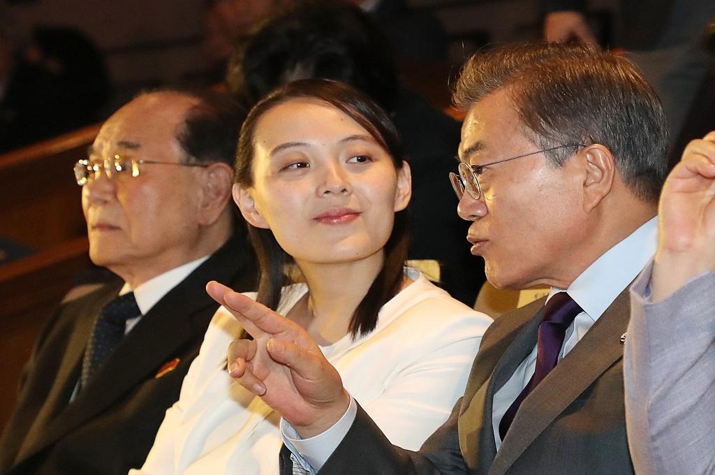 Keramahan Kim Yo-jong Memikat Media