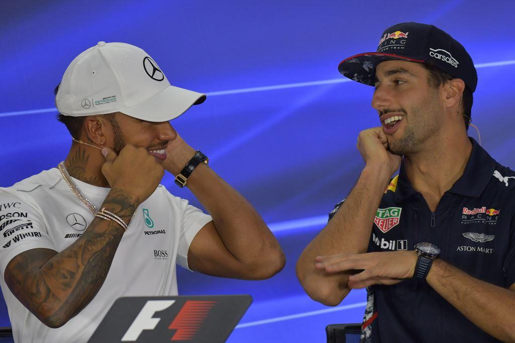 Ricciardo Simpan Mimpi Setim dengan Hamilton