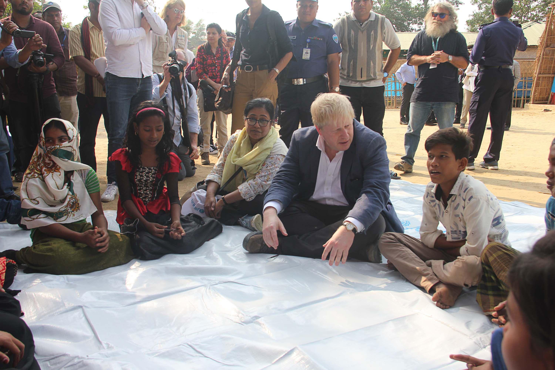 Menlu Inggris Temui Aung San Suu Kyi di Rakhine