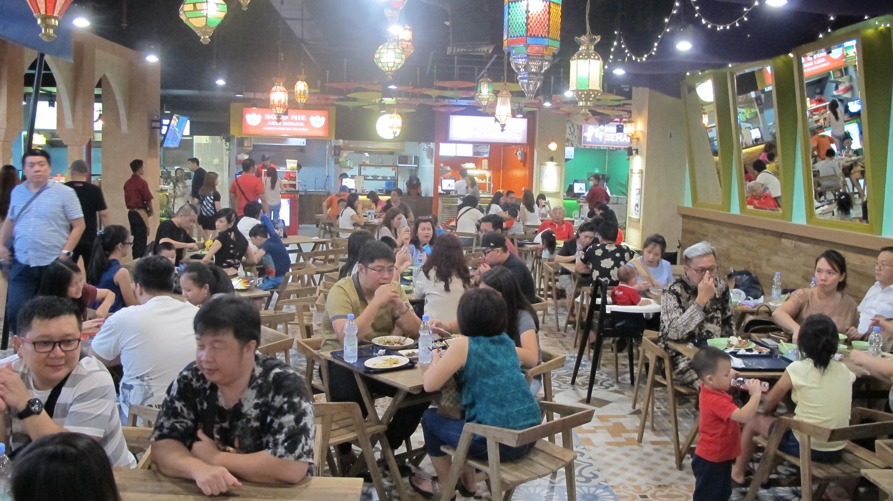 Rasa Berpadu Cerita ala Pasar Malam di Summarecon Mal Serpong
