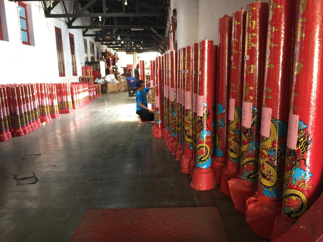 Ratusan Lilin Akan Padati Klenteng Tek Hay Kiong