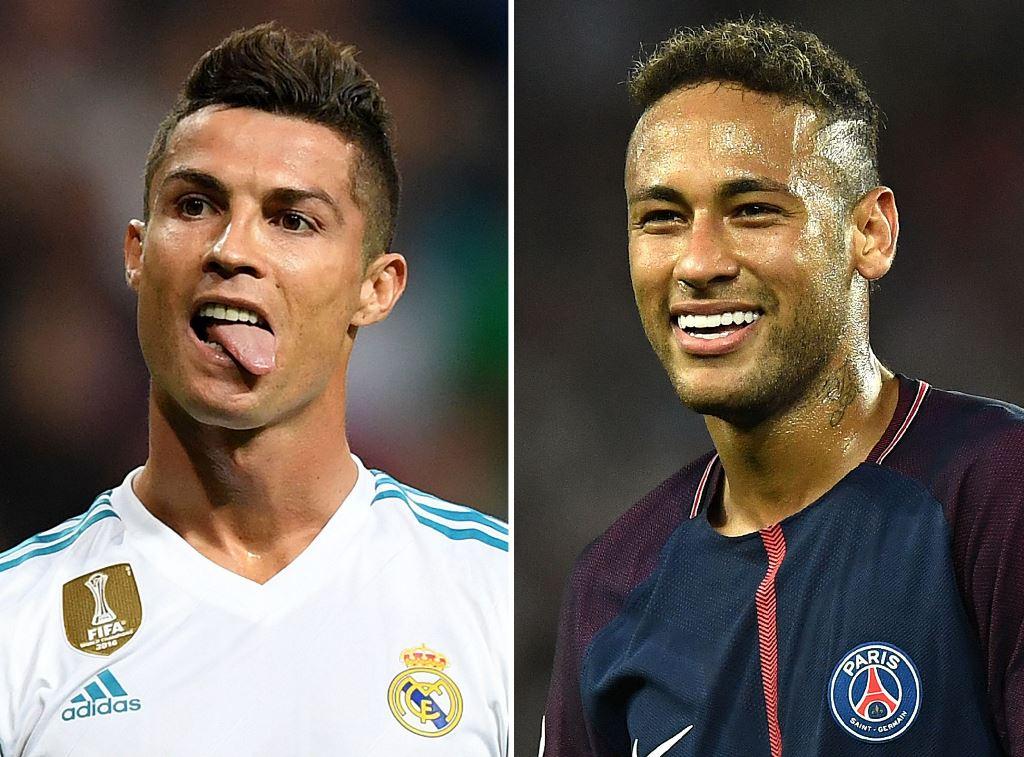 Cristiano Ronaldo vs Neymar dalam Angka