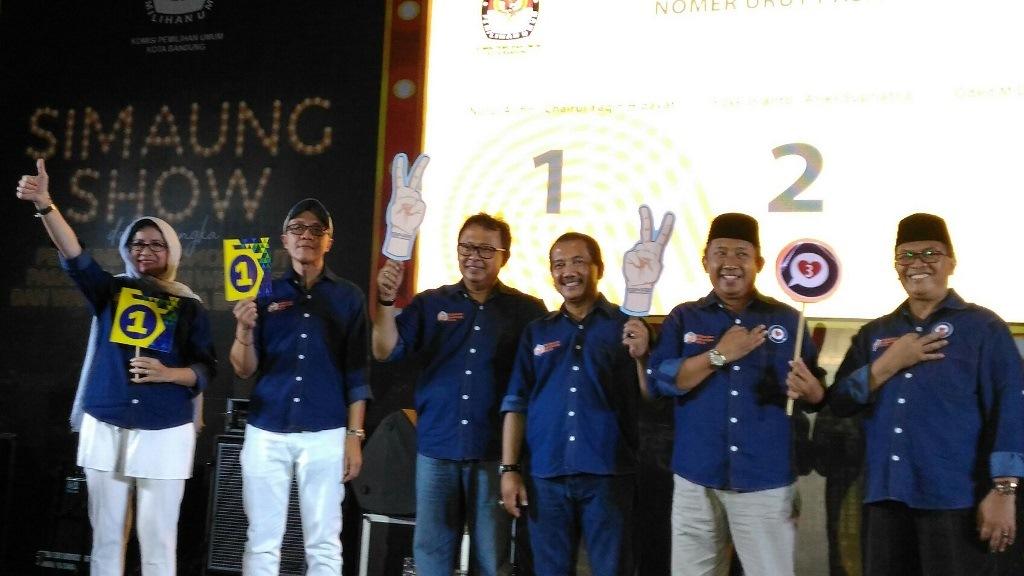 Yosie - Aries Dapat Nomor Urut 2 Pilwalkot Bandung