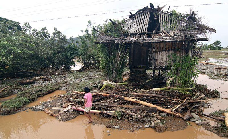 Empat Warga Filipina Selatan Tewas Diterjang Badai Sanba