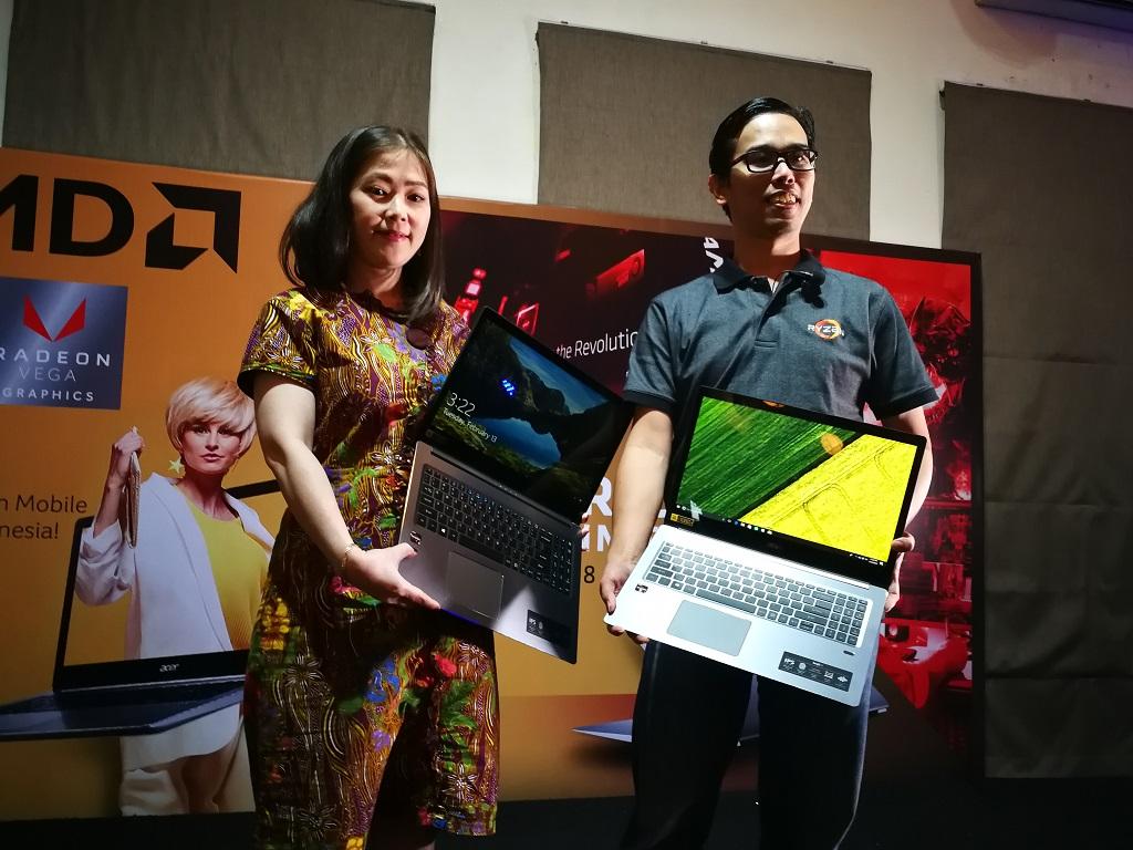 Acer Tanam Prosesor AMD Ryzen ke Laptopnya di Indonesia