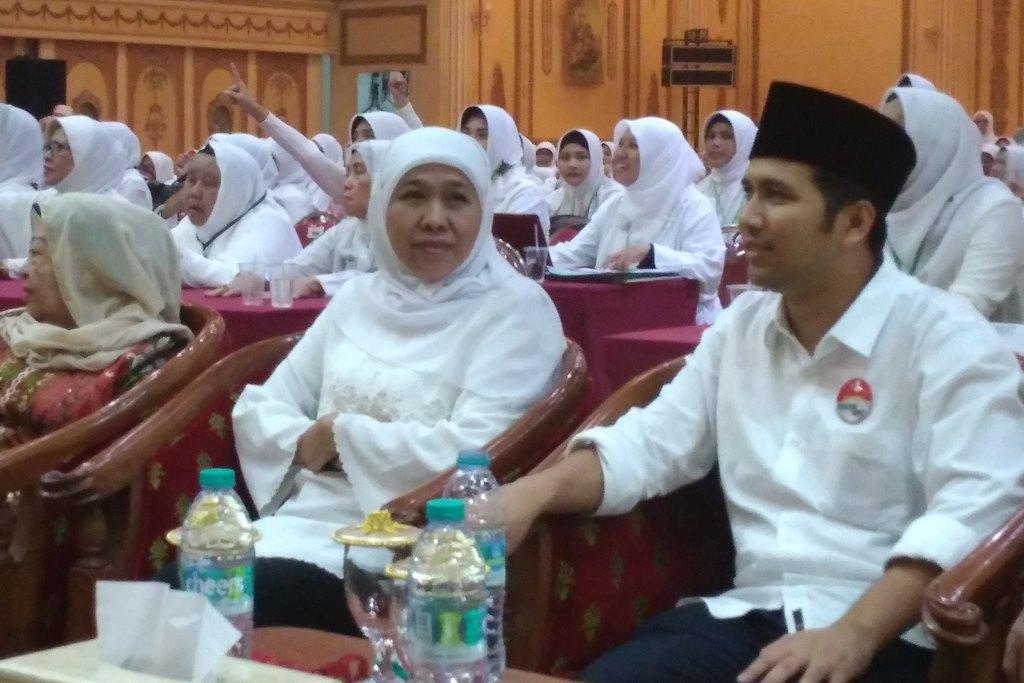 Ratusan Relawan Khofifah-Emil Rapat Koordinasi Menuju Jatim-1