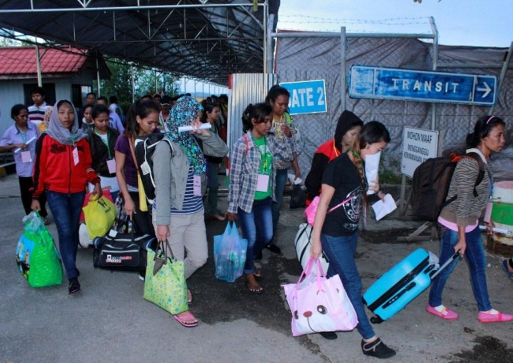 Pemrov Jateng Berkoordinasi Tentukan Nasib TKI Tertahan di Malaka