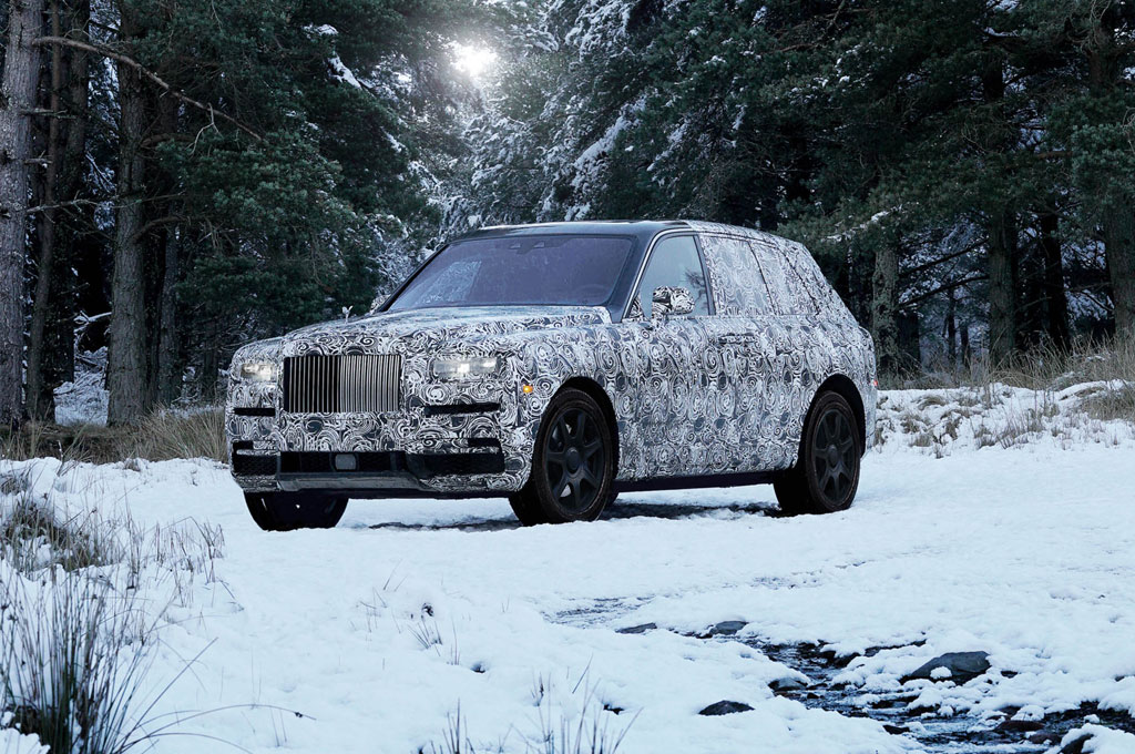 Cullinan, Bakal Nama SUV Baru dari Rolls-Royce