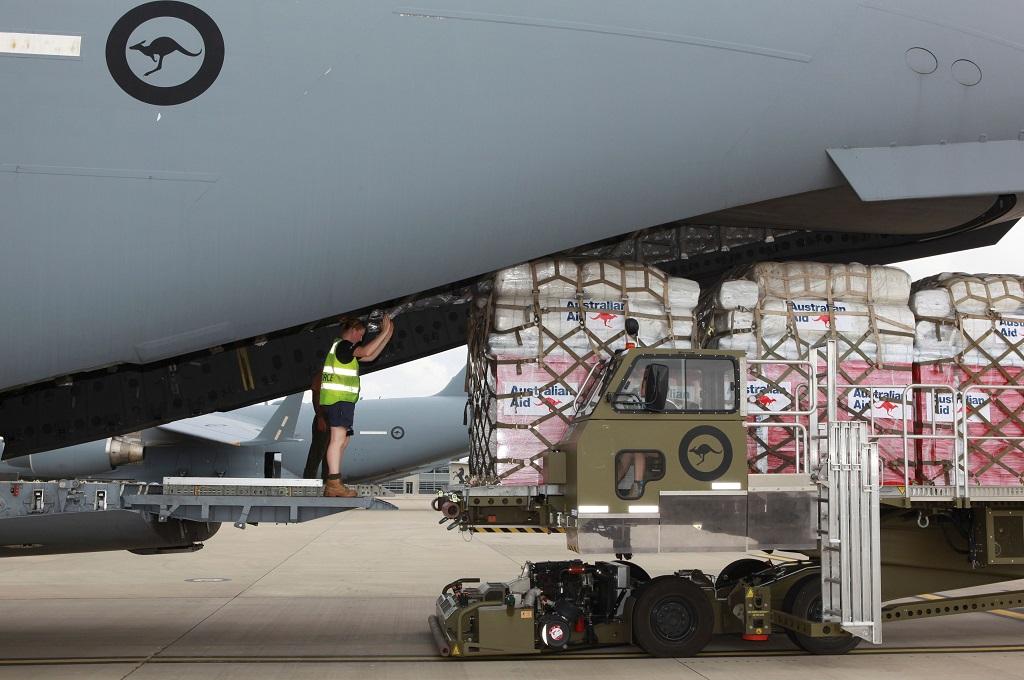 Bantuan Internasional Mengalir ke Tonga