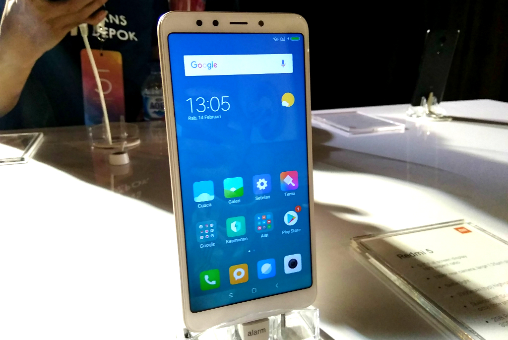 Ini Dia Spesifikasi Xiaomi Redmi 5 dan Redmi 5 Plus