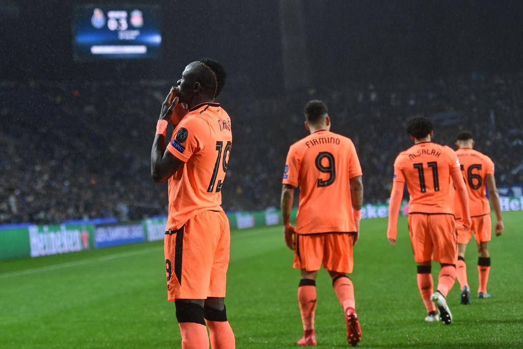 <i>Hattrick</i> Mane Bawa Liverpool Taklukkan Porto