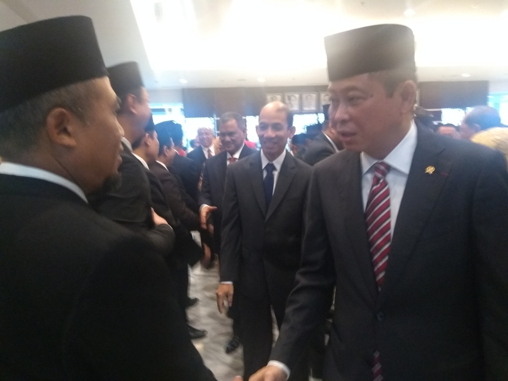 Dongkrak Investasi, Menteri Jonan Lantik 85 Pejabat Kementerian ESDM