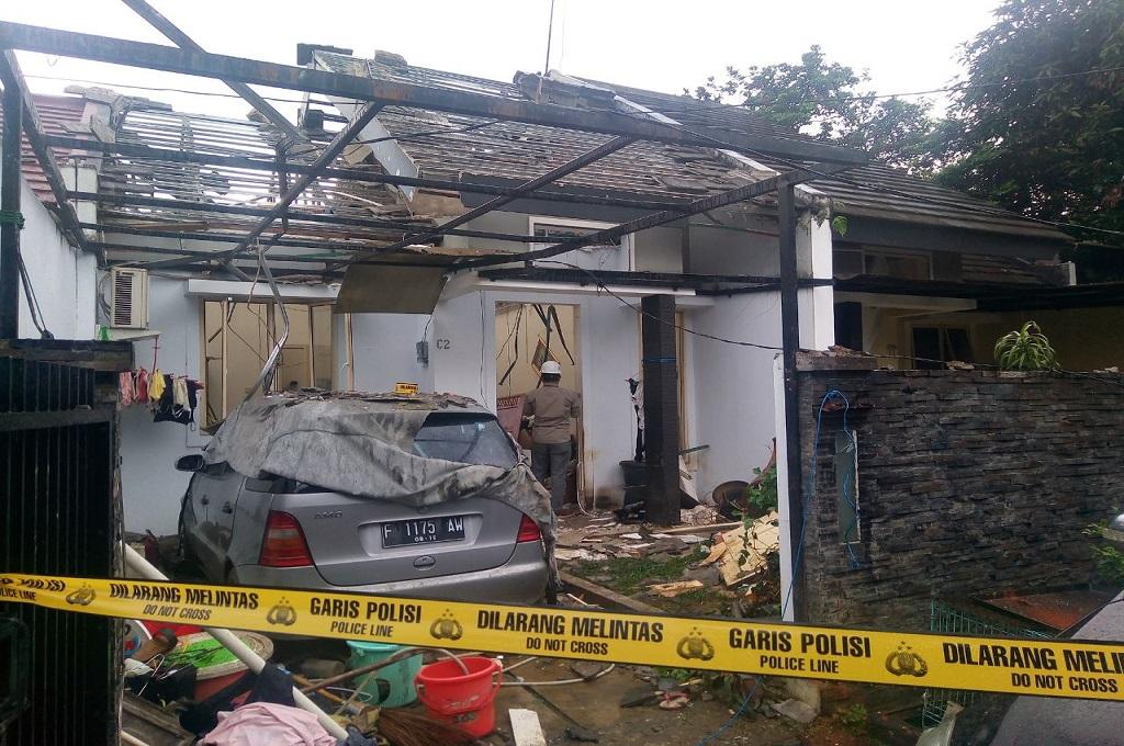 Ledakan Gas di Tanah Sareal Bogor Terdengar seperti Bom
