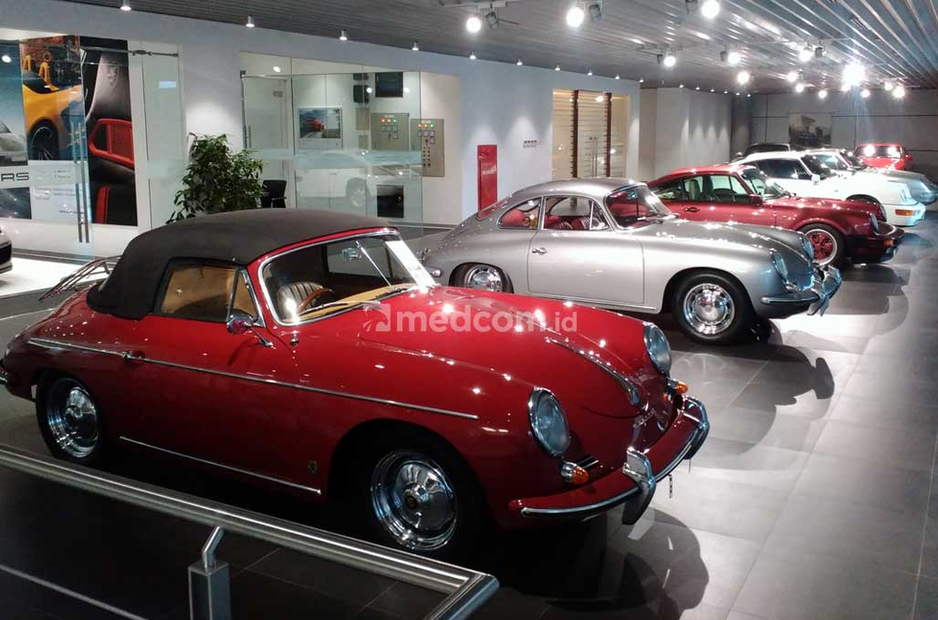 Porsche Indonesia Pamerkan Koleksi Mobil Klasik