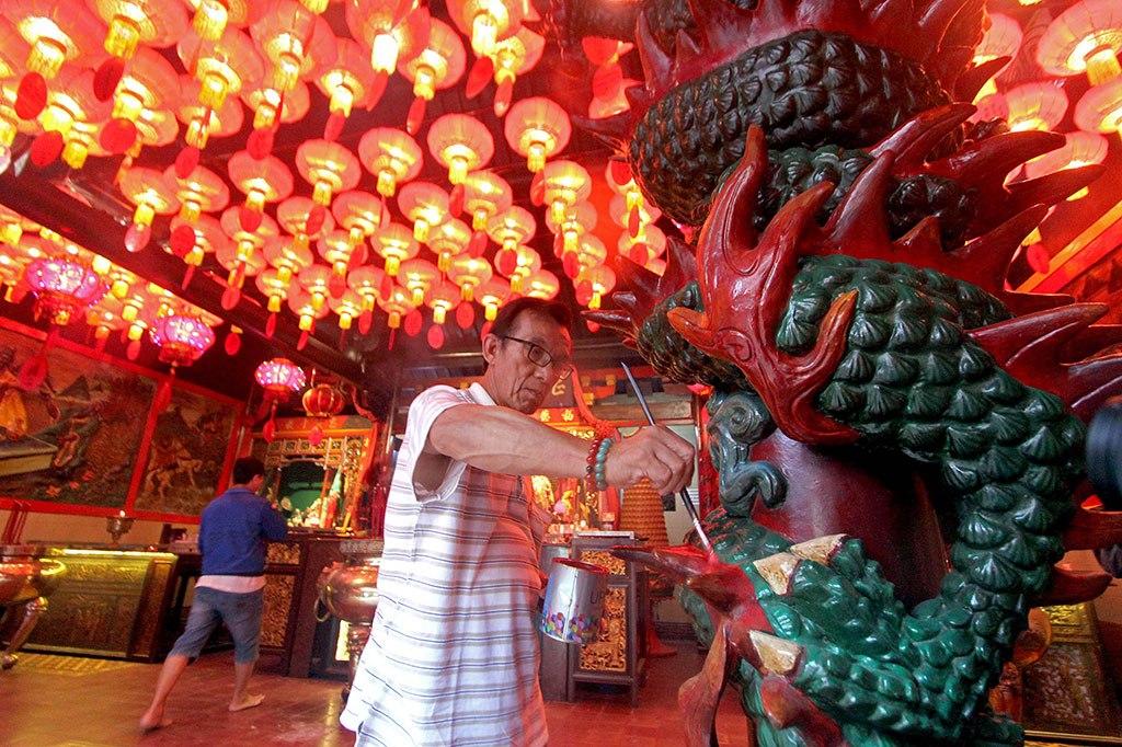 Tradisi Imlek di Manado