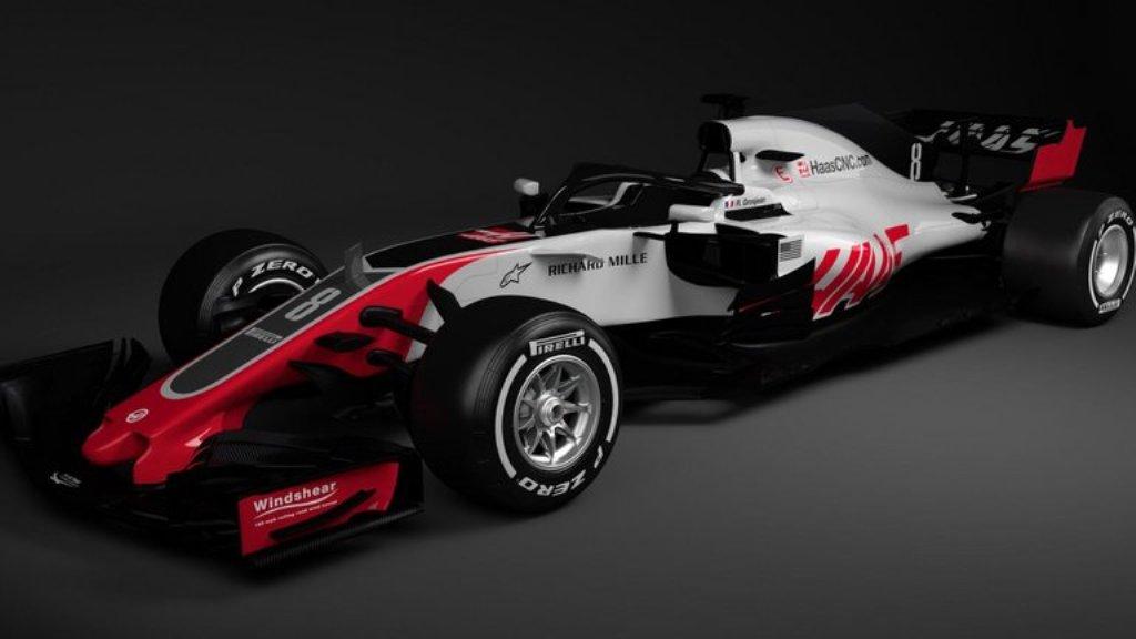 Haas Jadi Tim F1 Pertama yang Luncurkan Mobil Baru 2018