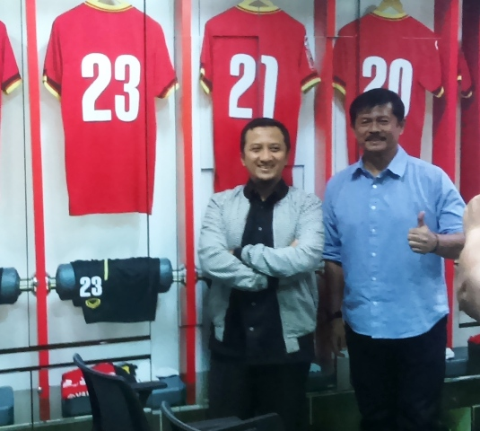Indra Sjafri Dirikan Akademi Sepak Bola Bersama Yusuf Mansur