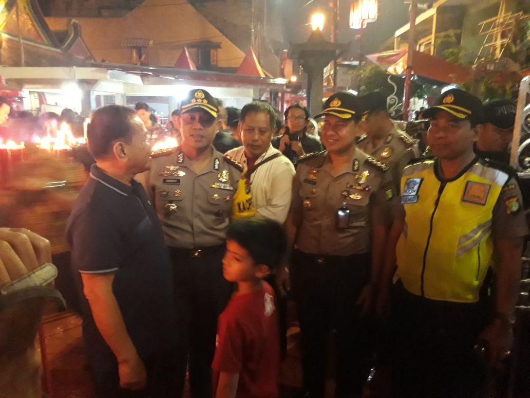 Pengamanan Klenteng di Tangerang Diperketat Jelang Imlek