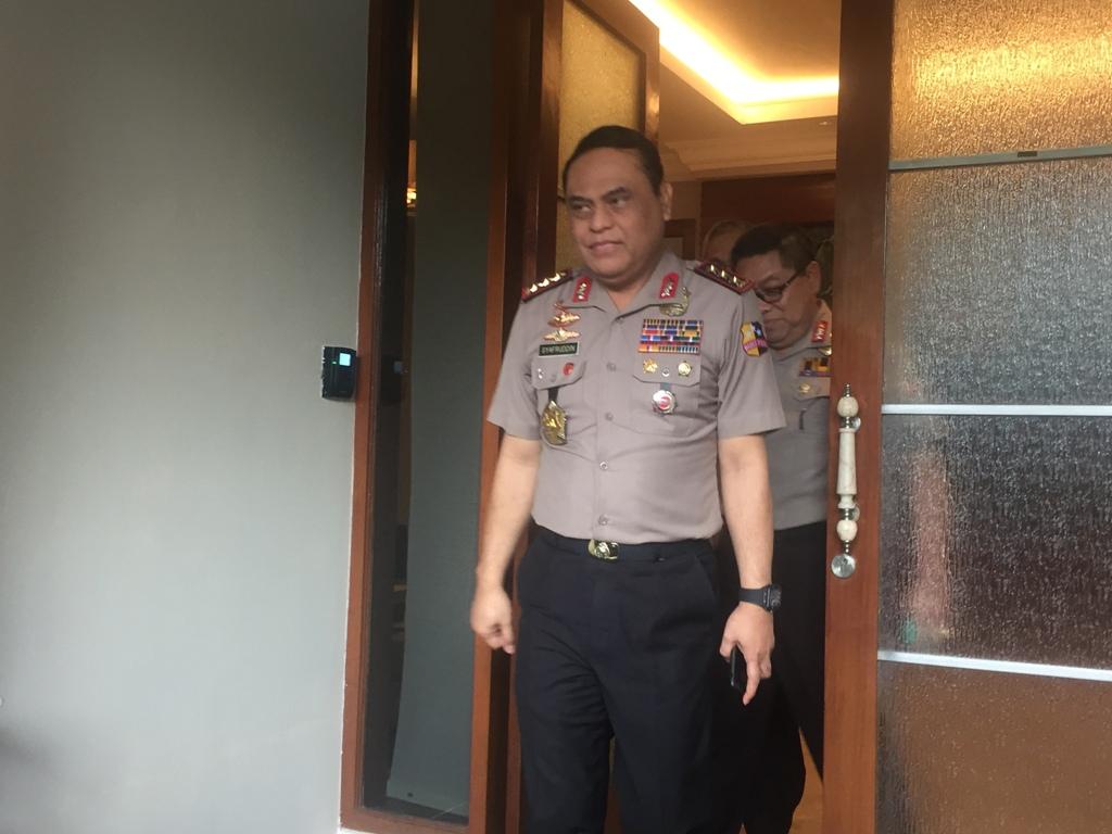 Panglima, Wakapolri, dan Wiranto Mendadak Bertemu