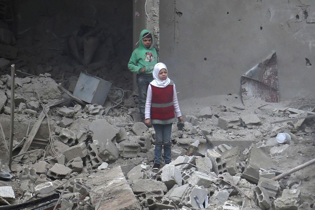Tekanan Tajam Demi Akhiri 'Neraka di Bumi' Suriah