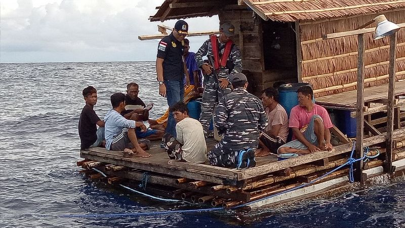 Delapan WN Filipina Ditangkap  di Kepulauan Sangihe
