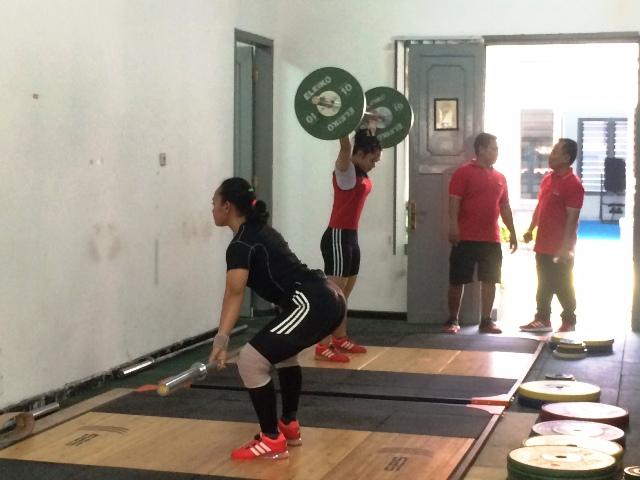 Tes Prestasi Atlet Angkat Besi Terbuka untuk Umum