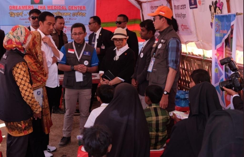 Indonesia, Negara yang Cepat Bertindak Krisis Rakhine