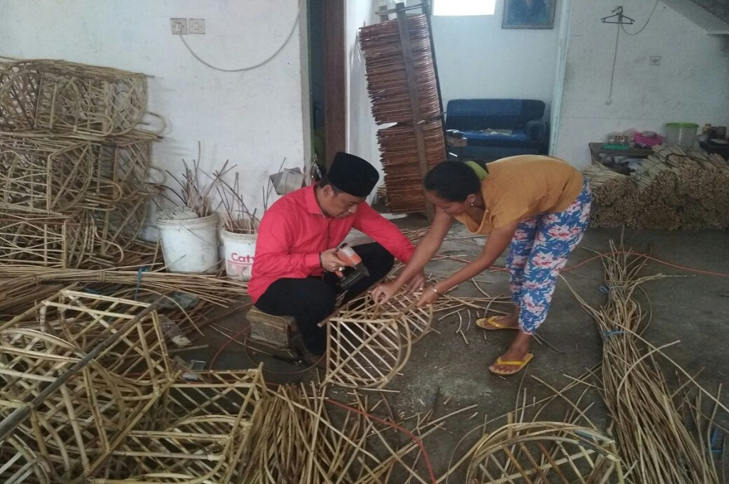 Ya'qud-Wanedi Ingin Kembalikan Kejayaan Rotan di Kota Malang