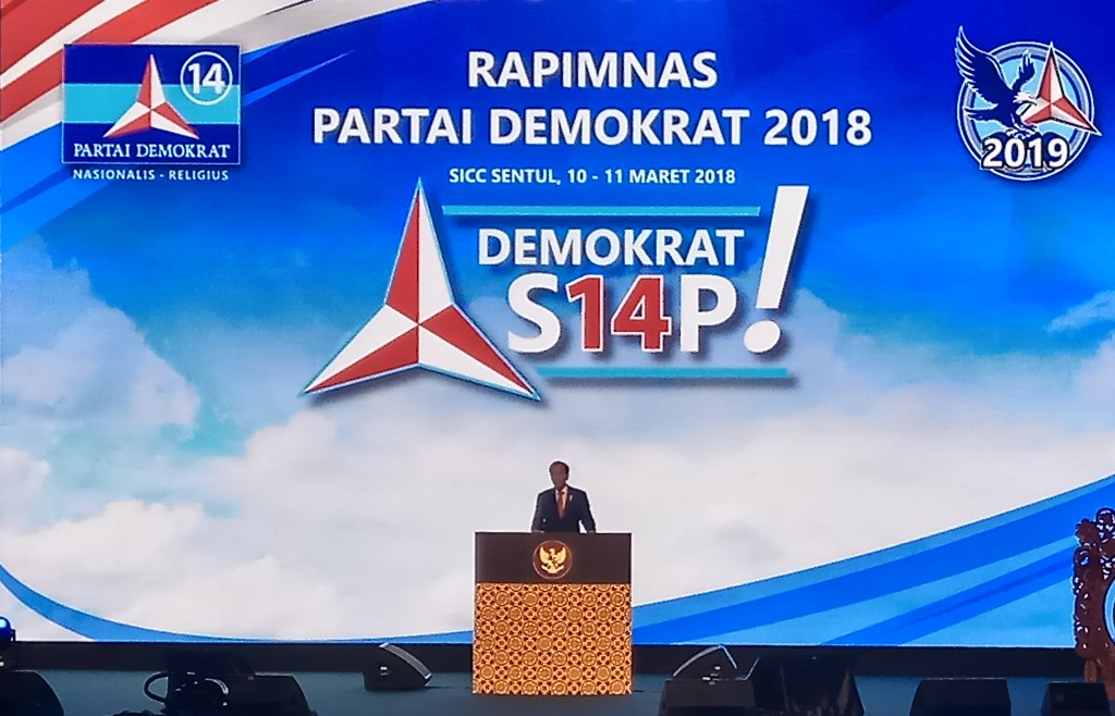 Jokowi: Saya Seorang Demokrat