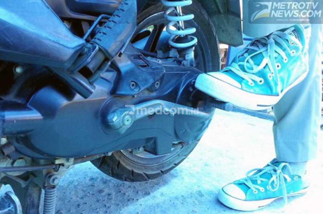 Jangan Lupakan Kick Starter Motormu