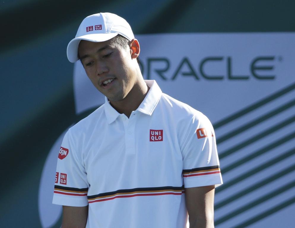 Kei Nishikori Mengundurkan Diri dari Indian Wells Masters