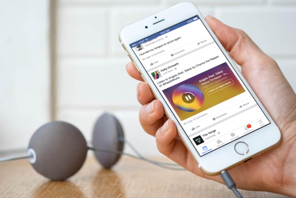 Facebook Pegang Lisensi Tiga Label Musik Besar, Siapa Saja?