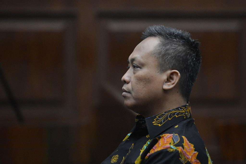 Eks Panitera PN Jaksel Dihukum 4 Tahun Penjara