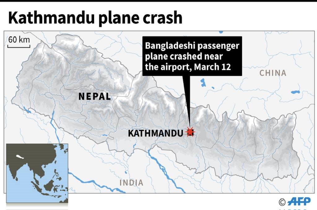 Pesawat Alami Kecelakaan di Bandara Kathmandu