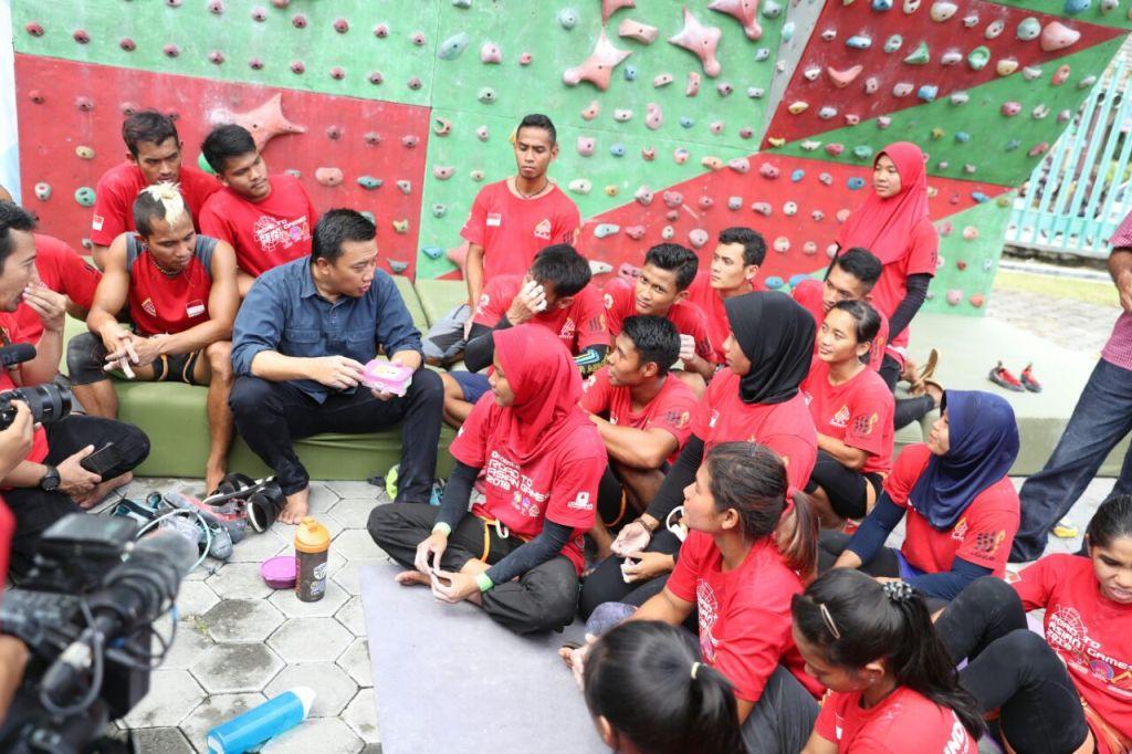 Menengok Persiapan Pelatnas Asian Games di Yogyakarta bersama Menpora