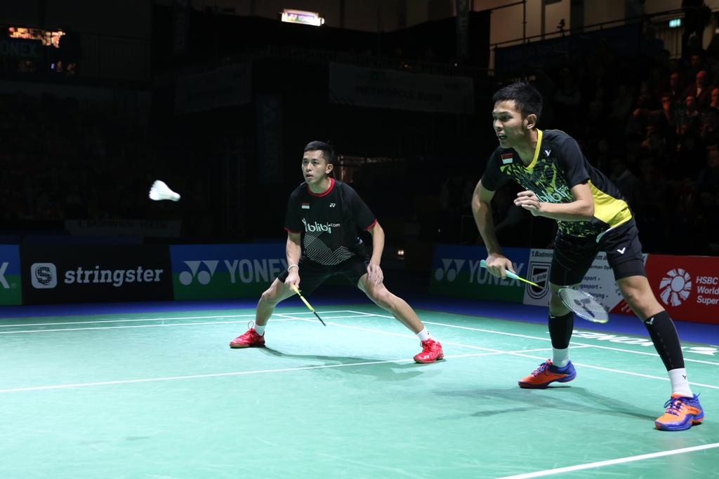 Pelatih Ganda Putra Komentari Hasil Fajar/Rian di German Open
