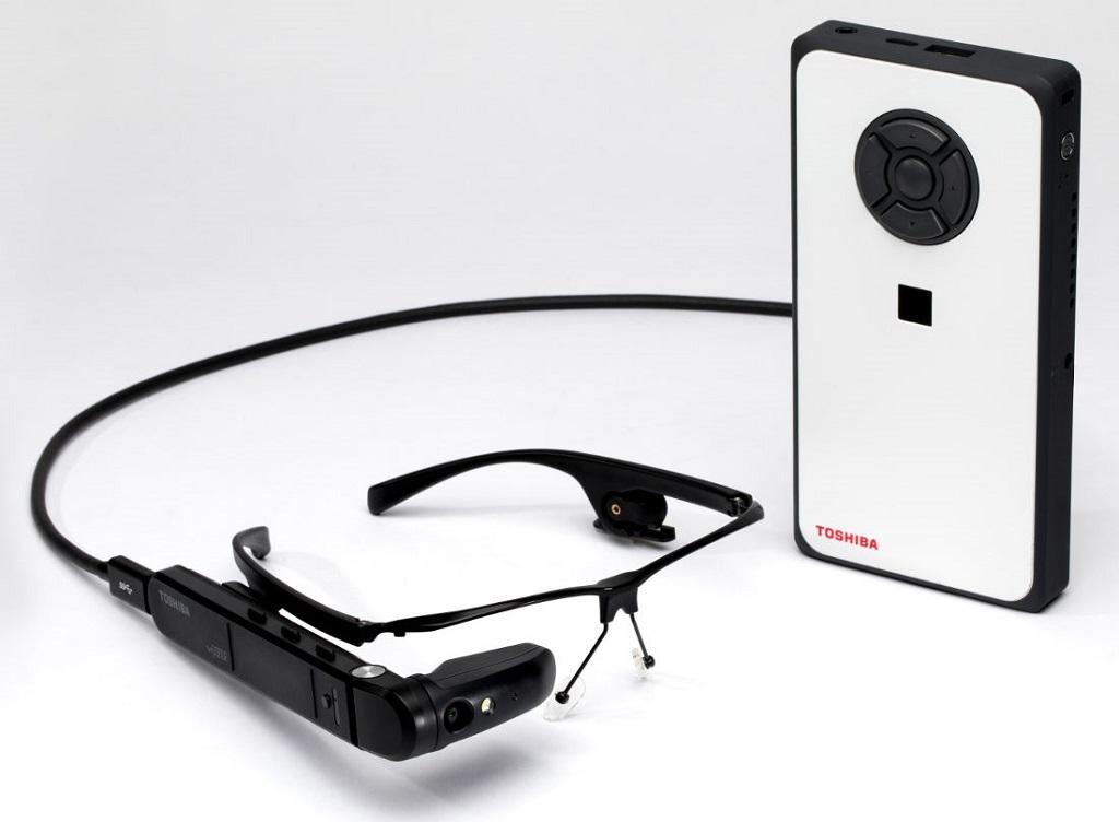 Begini Bentuk Kacamata Pintar Buatan Toshiba