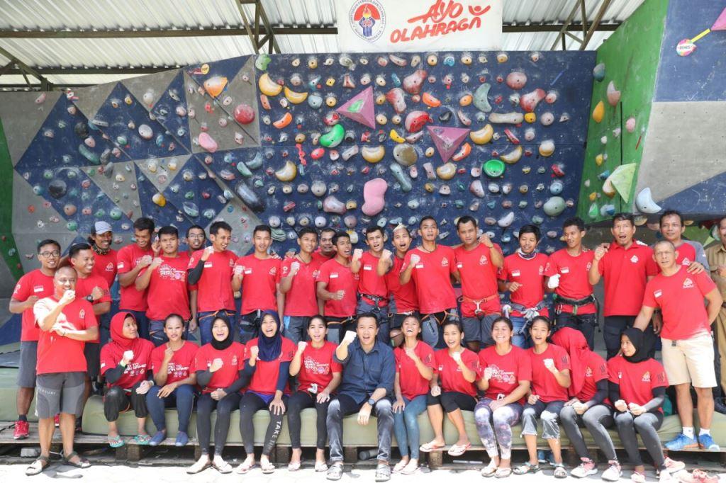 Pelatnas Panjat Tebing di Yogya Berdampak Positif ke Atlet Lokal