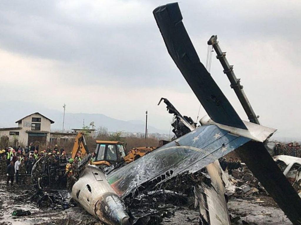Pejabat Bandara Kathmandu Sebut Terlalu Dini Simpulkan Penyebab Pesawat Jatuh
