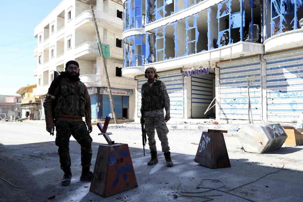 Tentara Turki dan Suriah Kepung Kota Afrin
