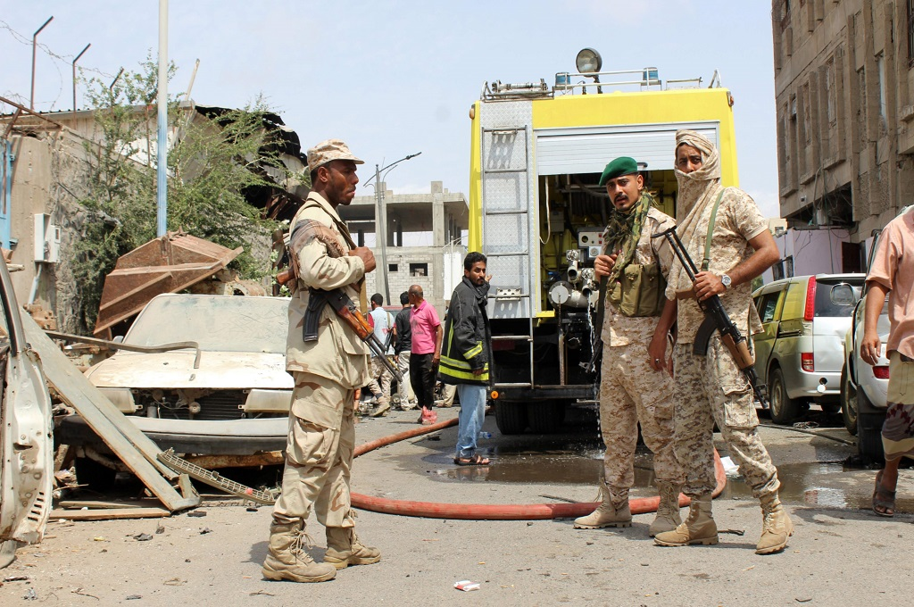 Bom ISIS Hantam Pasukan Yaman, Lima Orang Tewas