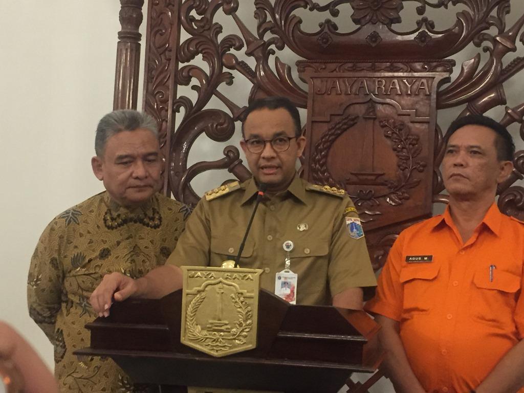 Pemprov DKI Galang Dana Rp600 Juta untuk Korban Bencana Longsor