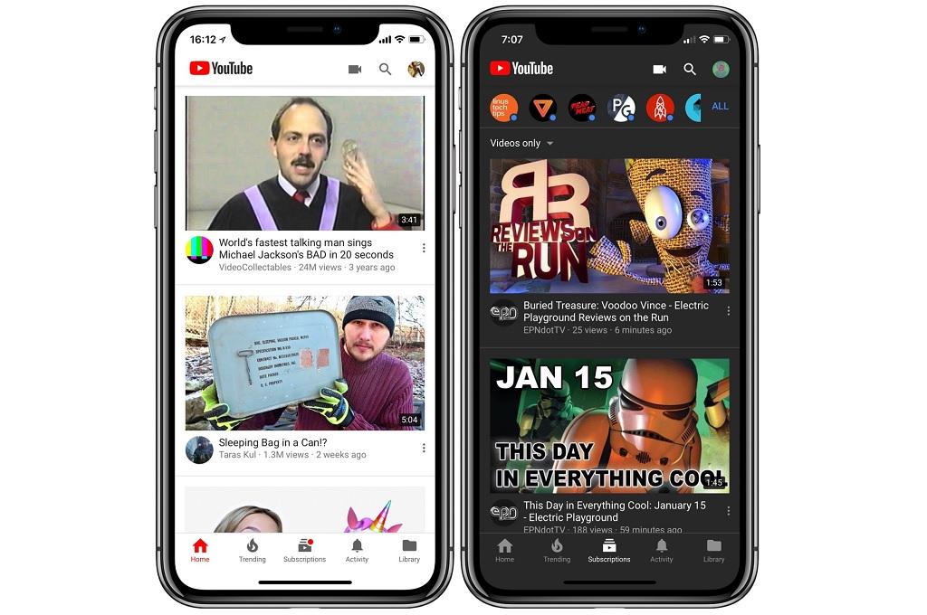 YouTube Pasang Pembaruan Eksklusif di iOS