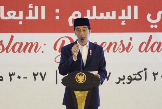 Jokowi Ingin Usaha Mikro di Pesantren Berkembang